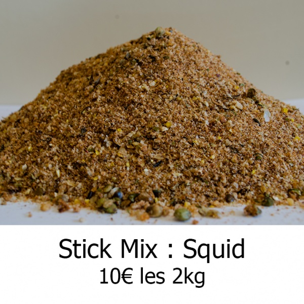 Stick Mix squid