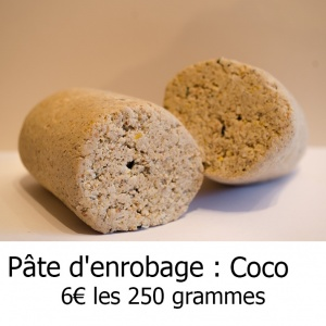 pate enrobage coco